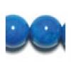 8mm Turquoise Howlite Round Semi-Precious
